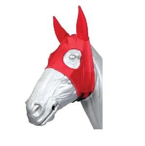 Race Hood With Neoprene Ears -Red (Barrier Removal)