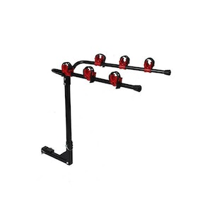 3 Car Bike Rack Carrier Rear Mount Bicycle Foldable Hitch