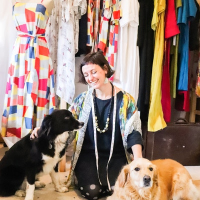 Small & Sustainable Fashion with The Quiet Lion Studio