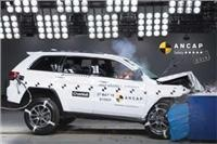 Jeep Grand Cherokee side impact strength shines in  five-star ANCAP safety rating