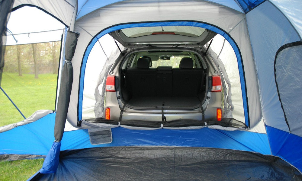 napier sportz 4x4 tent sock inside view & Napier Sportz SUV tent review