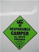 The  mark of Responsible Camping