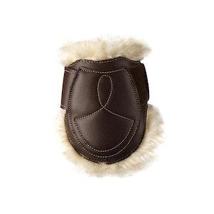 Sheepskin Leather Fetlock Boots Velcro