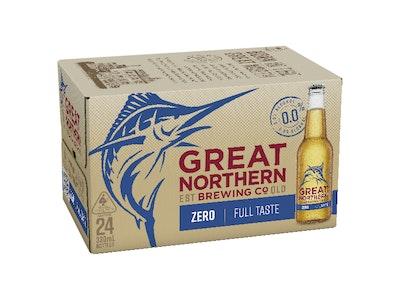 Great Northern Zero Bottle 330mL Case