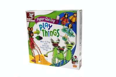Kaper Kidz PAPER QUILLING PLAY THINGS