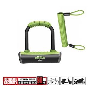 OnGuard Pitbull 8006E Mini Key U-Lock | E-Bike Compatible