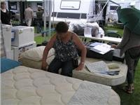 Re-creation mattress designs aim at travel comfort. 045