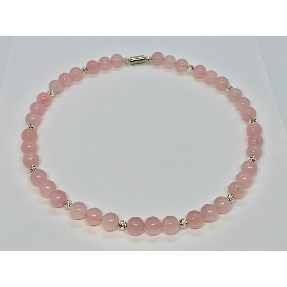 Fayre Maiden Rose Quartz Necklace