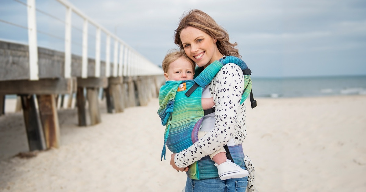 Babywearing – why you should fall in love with it