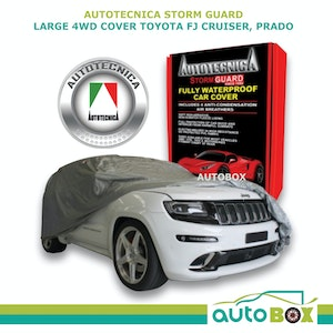 4WD Car Cover Stormguard Waterproof Large to 4.9M Land Rover Discovery 1998-2016