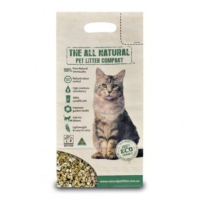 The All Natural Pet Litter Non Toxic Odour Control 27L