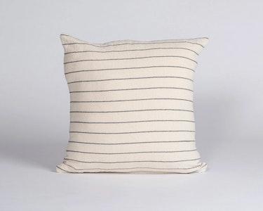 Hand Woven Cushion –Thin Stripe