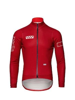 Pedla BOLD / AquaFLEECE Jacket - Deep Red