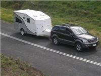 Caria Caravan Trailers on the road