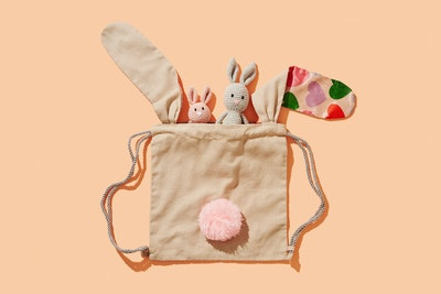 Global Sisters Shop Scout Mini Bunny Shoulder Bag