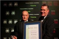 Victorian Hall of Fame caravan veteran Tom Harding awarded OAM