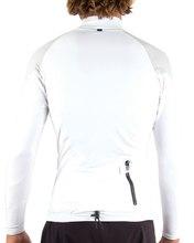 Mens Tropic LS Rash Shirt - White Mens Tropic LS Rash Shirt - White