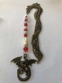 Handmade By Bronzerose Dragon Bookmark 2020
