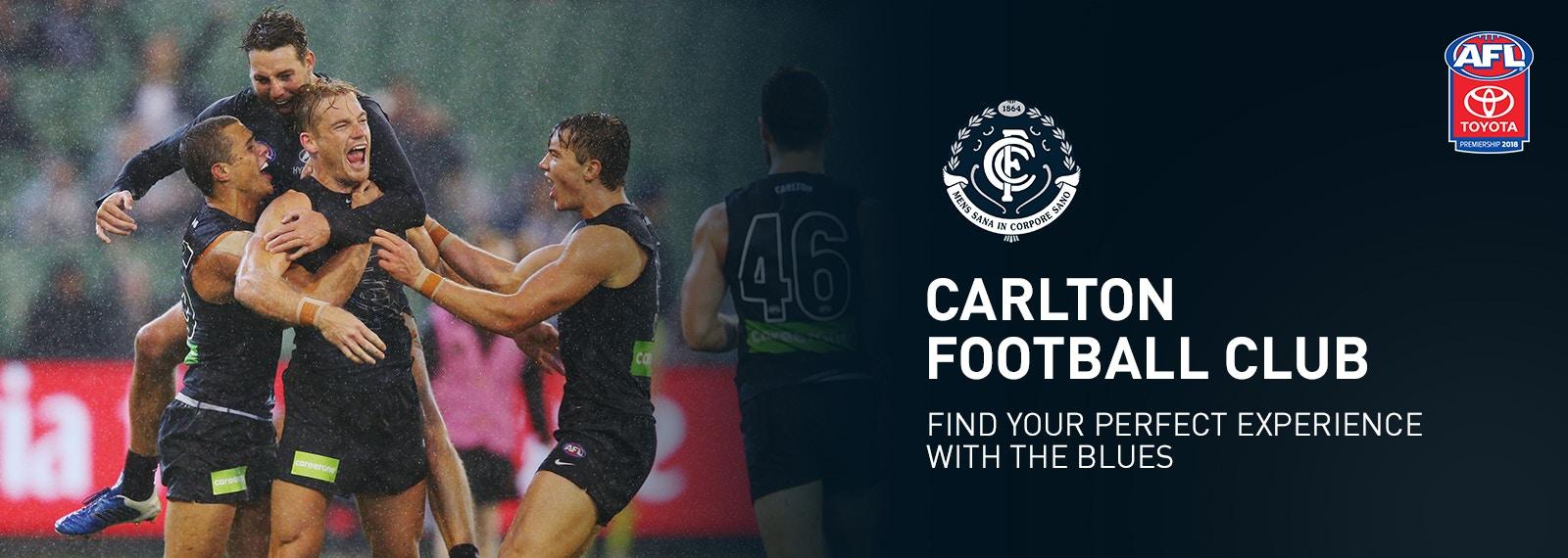 Carlton Football Club   2018 Top Experiences