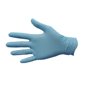 Nitrile Gloves Powder Free Soft Blue
