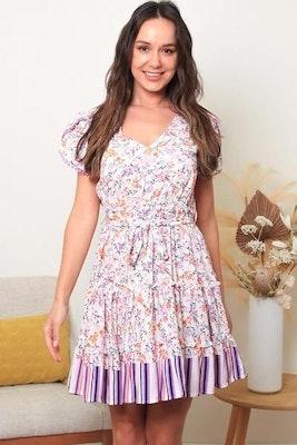 Lulubelles Clothing Dreamcatcher Della mini Dress