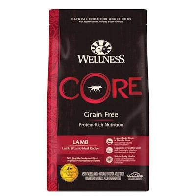 WELLNESS CORE Grain Free Adult Lamb Dry Dog Food