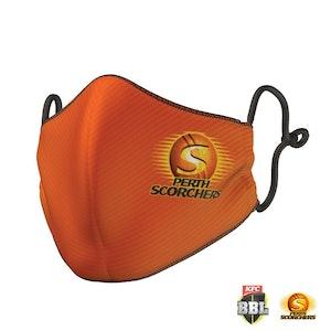 Perth Scorchers Face Mask - Big Bash League