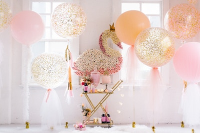 KIDS PARTY BALLOON IDEAS