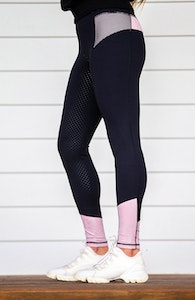 BARE Youth Performance Tights- Rose