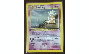 Pokemon TCG Slowking 1st Edition Holo Neo Genesis #14