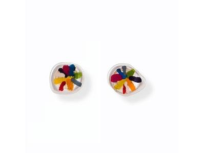 Rainbow Lines earrings
