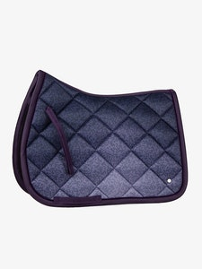PS OF Sweden Plum Ombre Saddle Pad - Jump