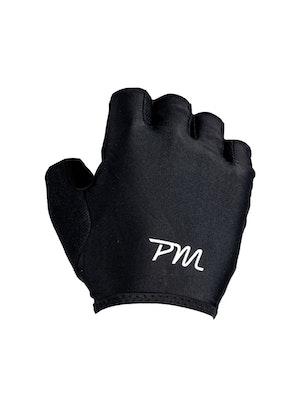 Pedal Mafia PM Short Finger Glove - Black / White
