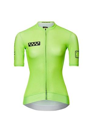 Pedla BOLD / Women's Climba Jersey - Neon Mint