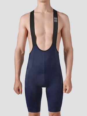 Soomom Men's Essential Cycling Bib Shorts - Navy