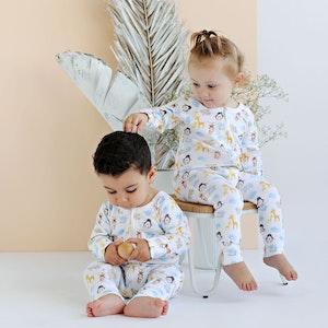 Babystory Animal Family - Unisex Growsuit