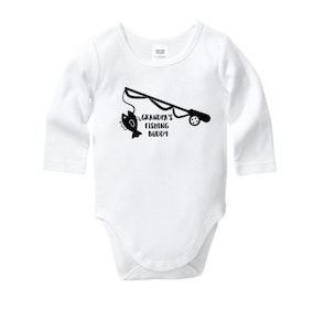 Grandpa's Fishing Buddy Onesie
