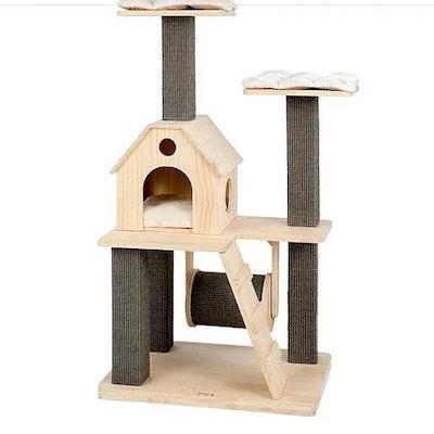 Honeypot CAT® Solid Wood Cat Tree 125cm