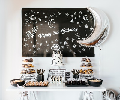 Monochromatic Space Party