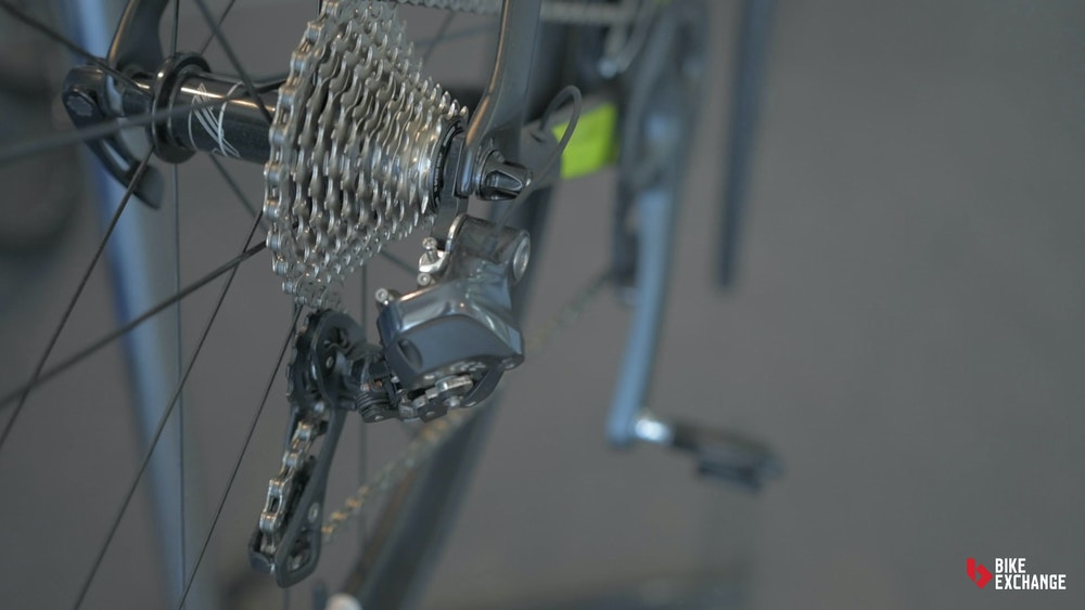 shimano synchro shifting settings explained BE rear derailleur