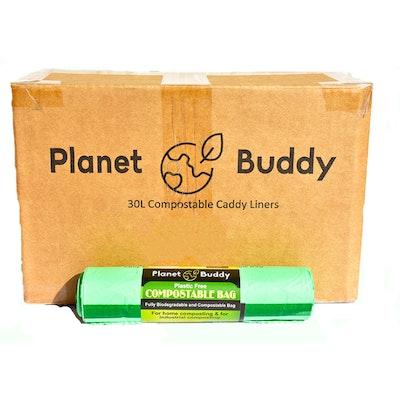 Planet Buddy 30L Bin Liners - 50 Rolls of 10 Liners