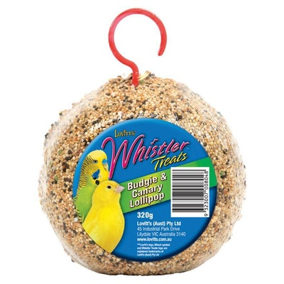 Whistler Budgie & Canary Lollipop  320gm