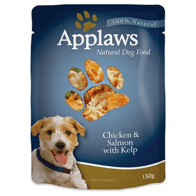 Applaws Dog Food Chicken & Salmon With Kelp Pouch 150g 12 Pack