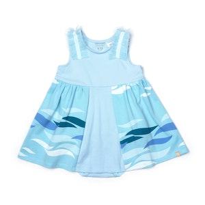 OETEO Australia EASYEO Ocean Waves Ruffle Romper Dress