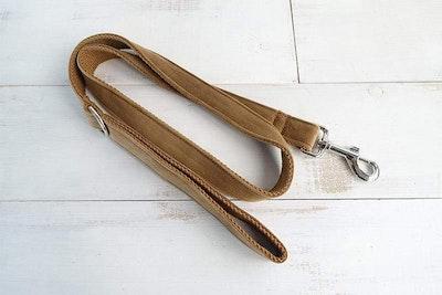 Barker & Bone Dog Leash | Camel