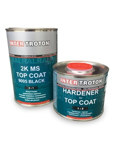 Troton 2K MS 2:1 Gloss 1Lt Kits with Hardener