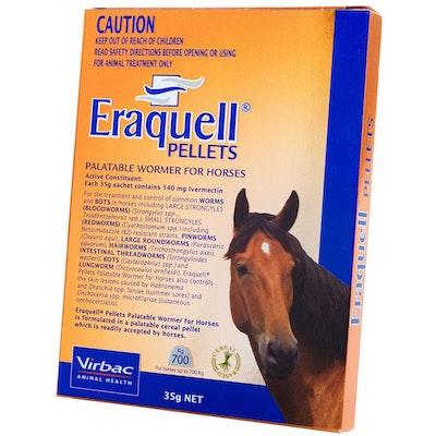 Virbac Eraquell Palatable Horse Equine Pellet Wormer 35g