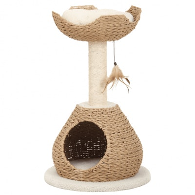 Petpals Scratcher Walk-up with Paper Rope