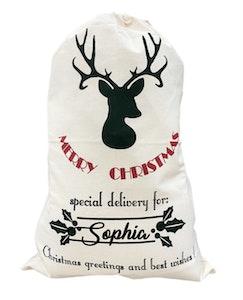 Merry Christmas Santa Sack - Christmas Font