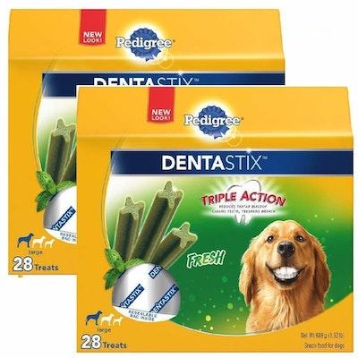 Pedigree Dog Treats Dentastix Large Breed Oral Care - 5 Sizes